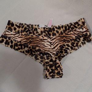 Cheetah Print Thong